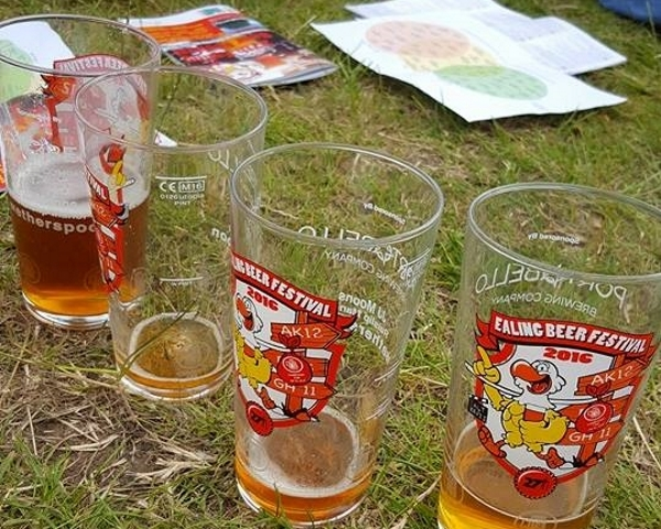 Beer festival glasses 2016